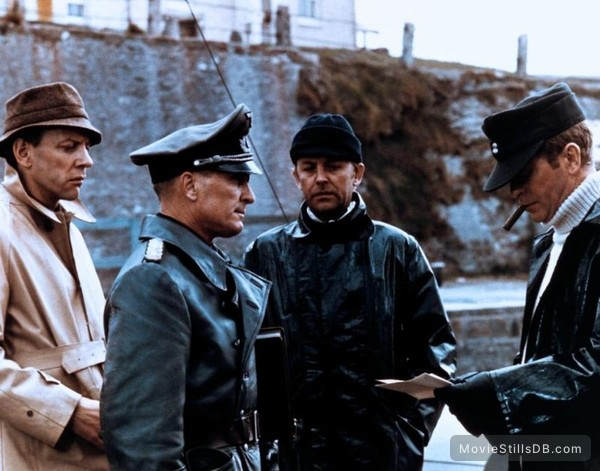 The Eagle Has Landed - Publicity still of Michael Caine, Robert Duvall, Donald Sutherland & Sven-bertil Taube