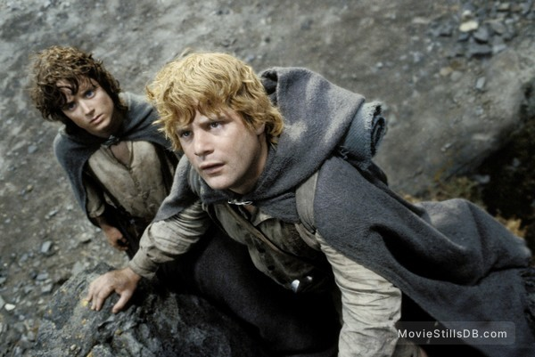 The Lord of the Rings: The Return of the King - Publicity still of Elijah Wood & Sean Astin