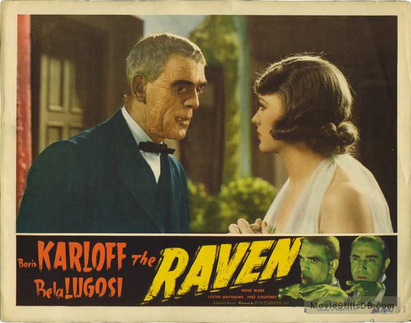 The Raven - Lobby card