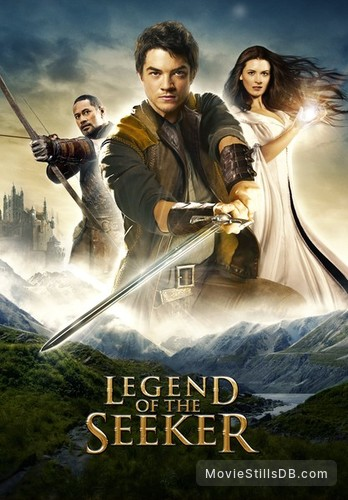 Legend of the Seeker - Promotional art with Craig Horner, Bridget Regan & Jay Laga'aia