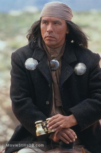 Geronimo: An American Legend - Publicity still of Wes Studi