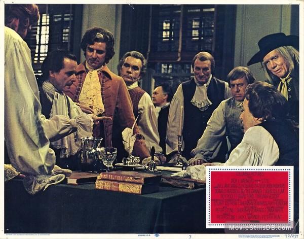 1776 - Lobby card with William Daniels