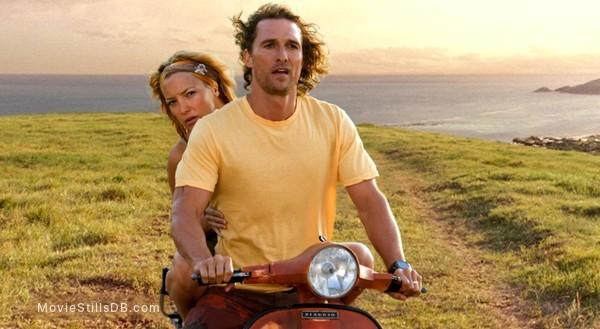 Fool's Gold - Publicity still of Matthew McConaughey & Kate Hudson