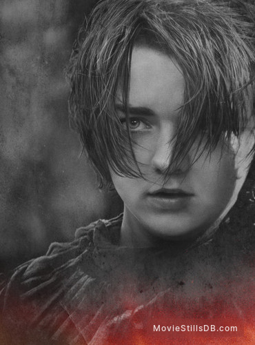 Game of Thrones - Promotional art with Maisie Williams