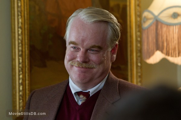 The Master - Publicity still of Philip Seymour Hoffman
