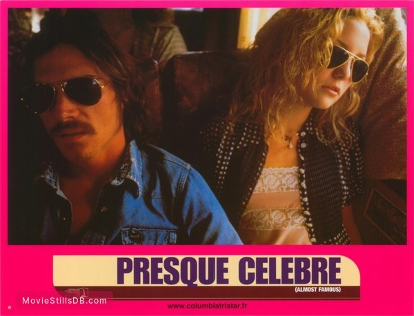 Almost Famous - Lobby card with Kate Hudson & Billy Crudup