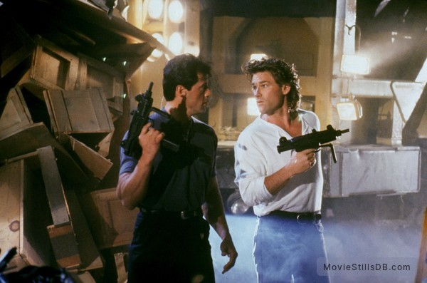 Tango And Cash - Publicity still of Sylvester Stallone & Kurt Russell