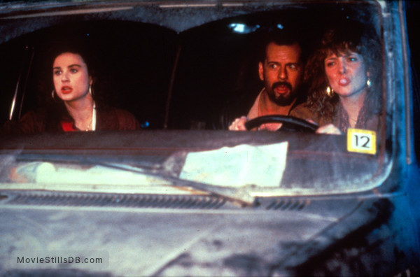 Mortal Thoughts - Publicity still of Bruce Willis, Glenne Headly & Demi Moore