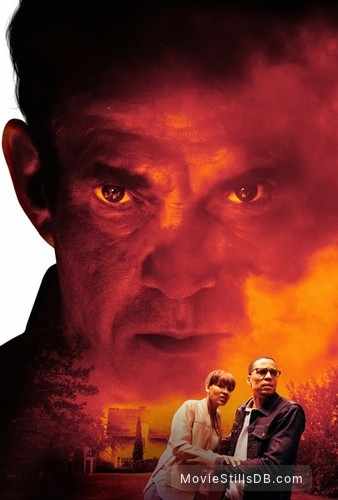 The Intruder - Promotional art with Dennis Quaid, Meagan Good & Michael Ealy