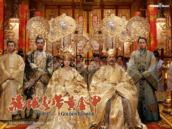 Curse of the Golden Flower - Wallpaper with Chow Yun-Fat & Gong Li