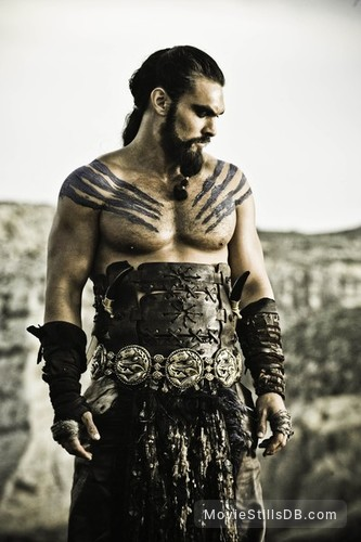 Game of Thrones - Publicity still of Jason Momoa