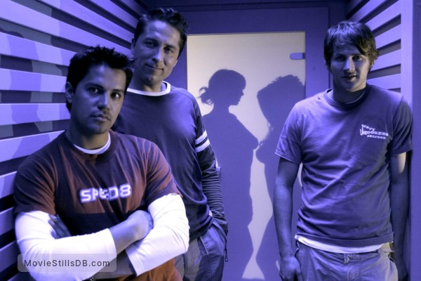 Hostel - Publicity still of Jay Hernandez, Eythor Gudjonsson & Derek Richardson