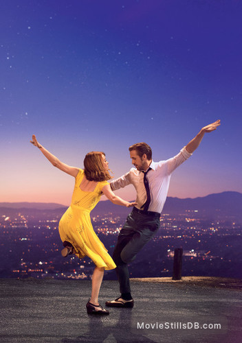 La La Land - Promotional art with Ryan Gosling & Emma Stone