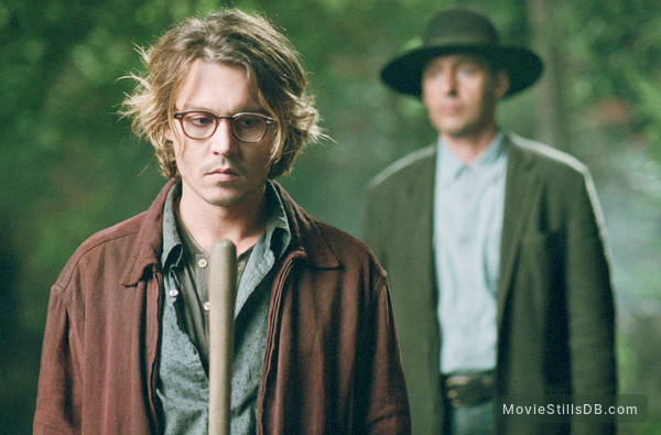 Secret Window - Publicity still of Johnny Depp