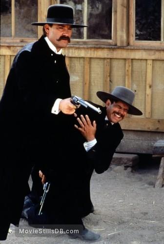 Tombstone - Publicity still of Kurt Russell & Bill Paxton