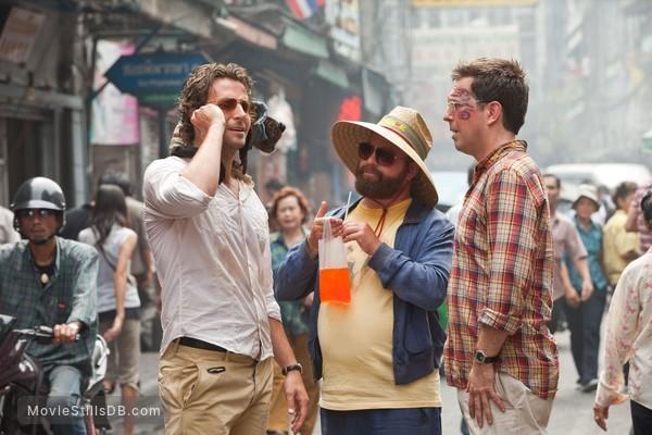 The Hangover Part II - Publicity still of Bradley Cooper, Zach Galifianakis & Ed Helms