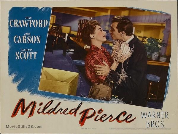 Mildred Pierce - Lobby card with Zachary Scott & Joan Crawford