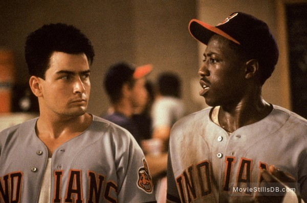 Major League - Publicity still of Charlie Sheen & Wesley Snipes