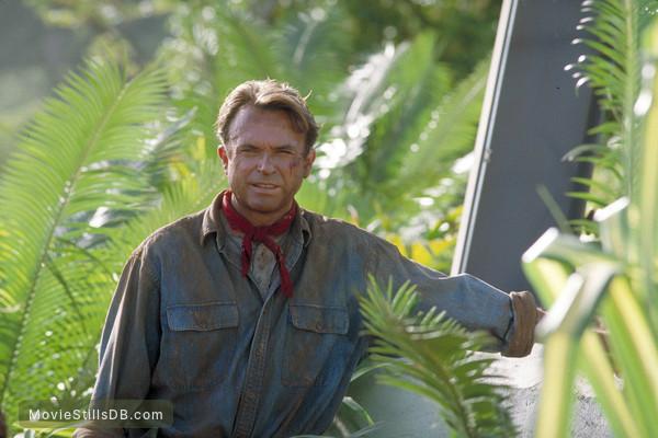 Jurassic Park - Publicity still of Sam Neill