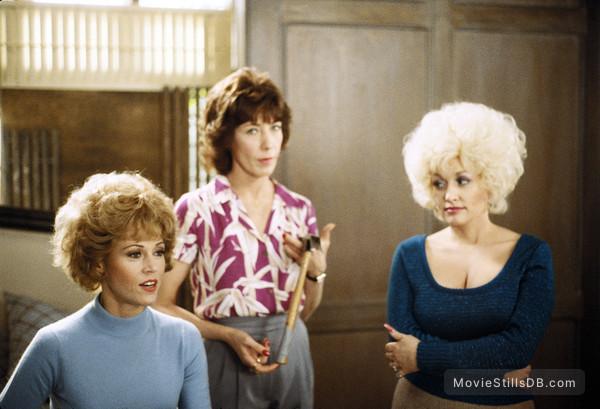 Nine to Five - Publicity still of Jane Fonda, Lily Tomlin & Dolly Parton