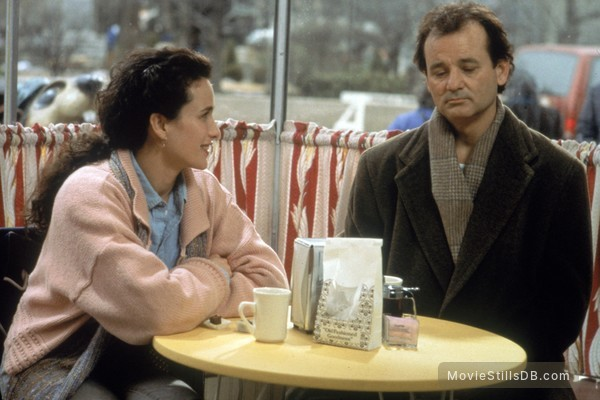 Groundhog Day - Publicity still of Bill Murray & Andie MacDowell
