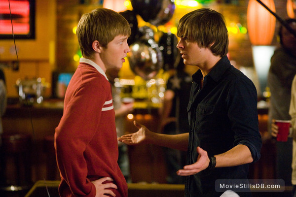 17 Again - Publicity still of Sterling Knight & Zac Efron
