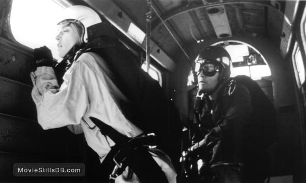 Terminal Velocity - Publicity still of Charlie Sheen & Nastassja Kinski