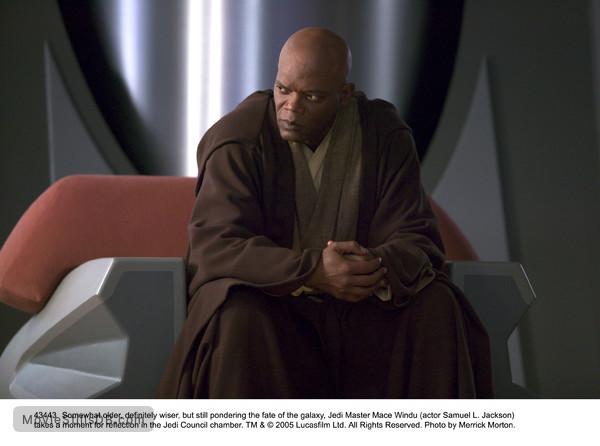 Star Wars: Episode III - Revenge of the Sith - Publicity still of Samuel L. Jackson
