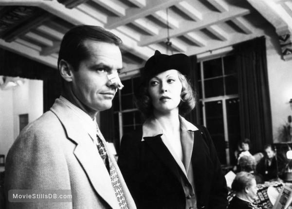 Chinatown Publicity Still Of Faye Dunaway Jack Nicholson