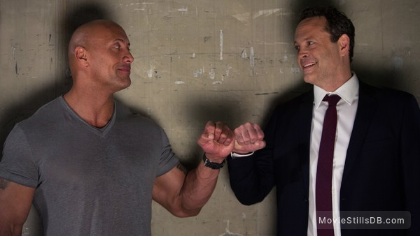 Fighting with My Family - Publicity still of Dwayne Johnson & Vince Vaughn