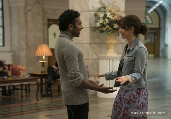Yesterday - Publicity still of Himesh Patel & Lily James