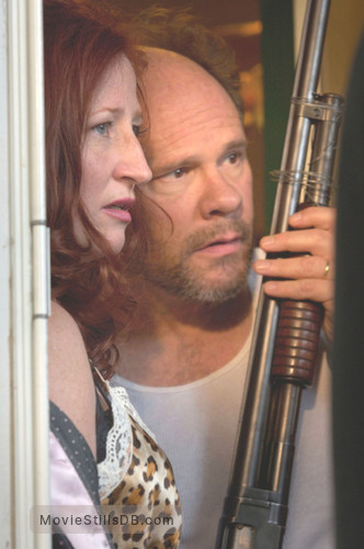 Out of Omaha - Publicity still of Vicki Lewis & Ethan Phillips
