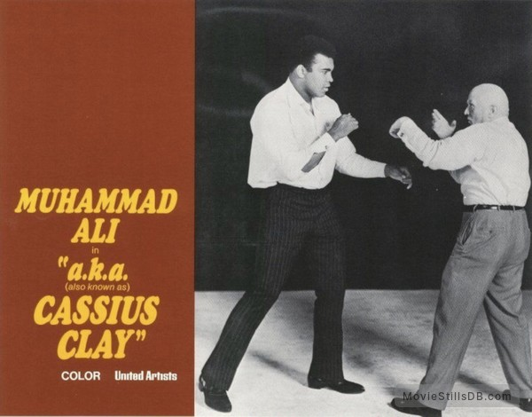 a.k.a. Cassius Clay - Lobby card with Muhammad Ali