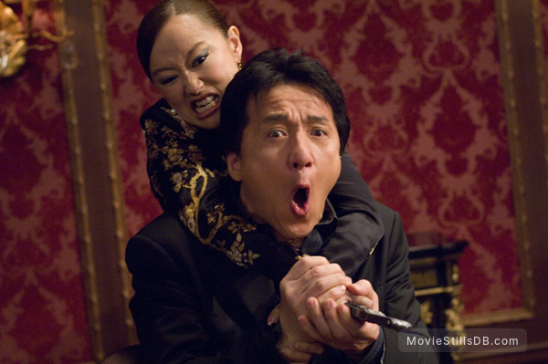 Rush Hour 3 - Publicity still of Youki Kudoh & Jackie Chan