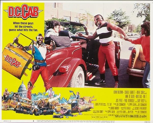 D.C. Cab - Lobby card with Mr. T & Paul Rodríguez
