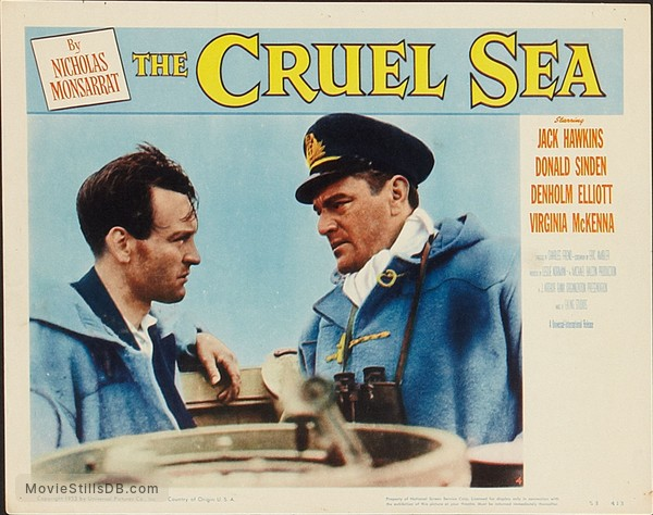 The Cruel Sea - Lobby card