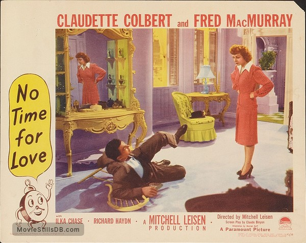No Time for Love - Lobby card