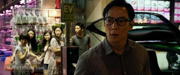 Geostorm - Publicity still of Daniel Wu