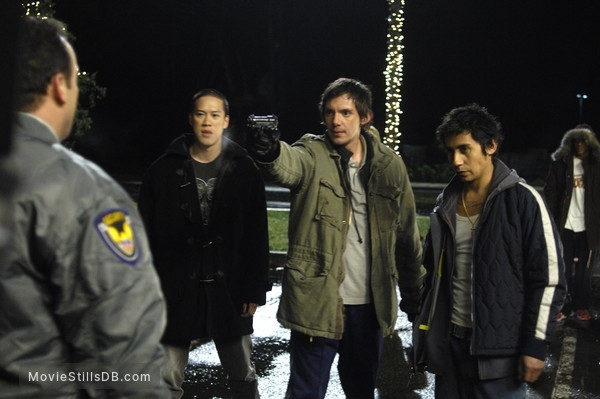 While She Was Out - Publicity still of Lukas Haas & Leonard Wu