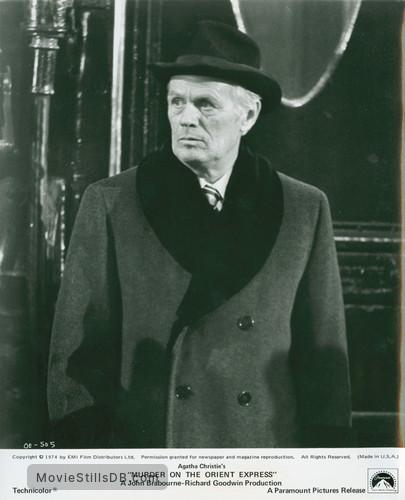 Murder on the Orient Express - Publicity still of Richard Widmark