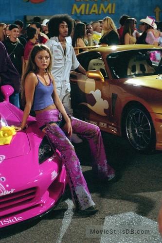 2 Fast 2 Furious - Publicity still of Devon Aoki & Ludacris