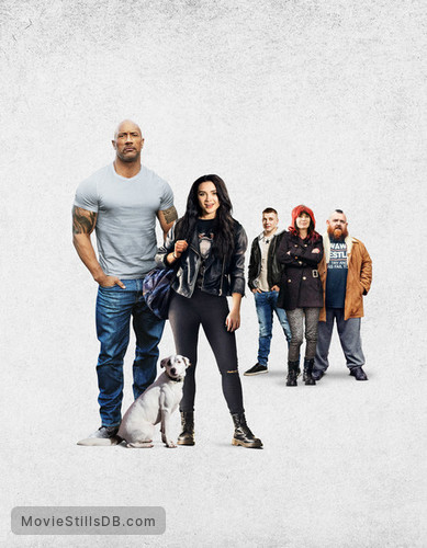 Fighting with My Family - Promotional art with Nick Frost, Lena Headey, Dwayne Johnson, Jack Lowden & Florence Pugh