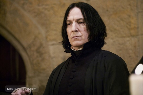 Harry Potter and the Goblet of Fire - Publicity still of Alan Rickman