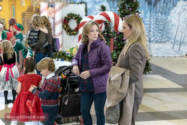 A Dream Of Christmas.A Dream Of Christmas Publicity Still Of Nikki Deloach