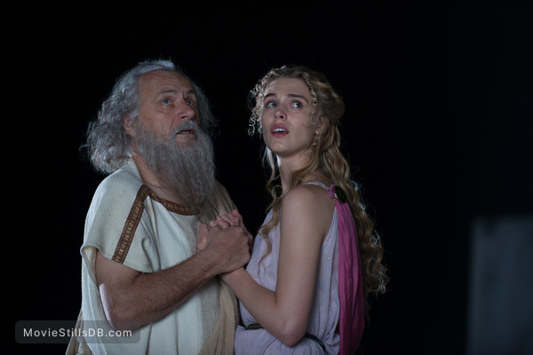 The Legend of Hercules - Publicity still of Gaia Weiss & Rade Serbedzija