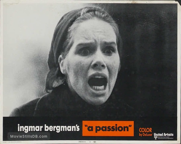 En passion - Lobby card