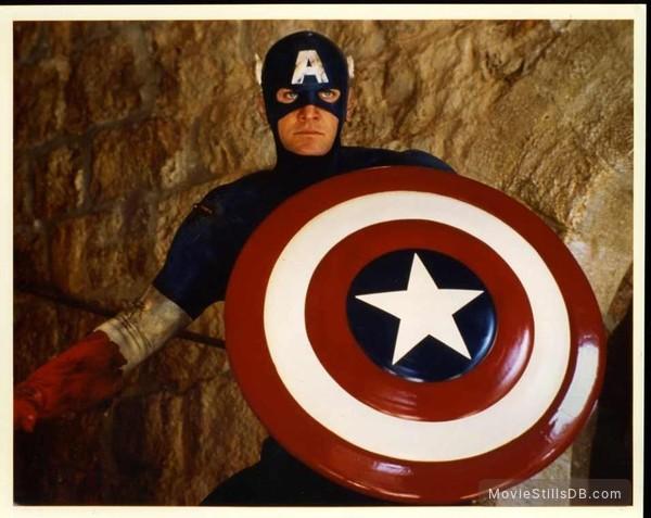 Captain America - Publicity still of Matt Salinger