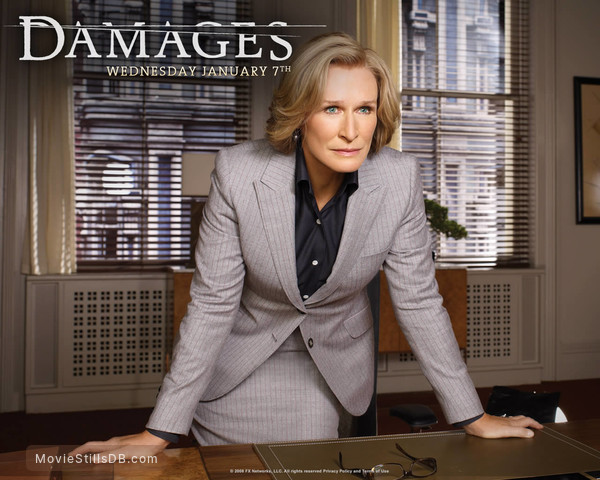 Damages - Wallpaper with Glenn Close
