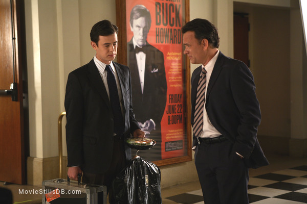 The Great Buck Howard - Publicity still of Colin Hanks & Tom Hanks