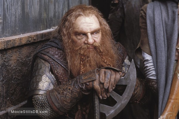 The Lord of the Rings: The Two Towers - Publicity still of John Rhys-Davies